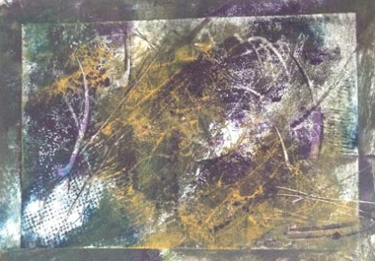 sue solar collagraph